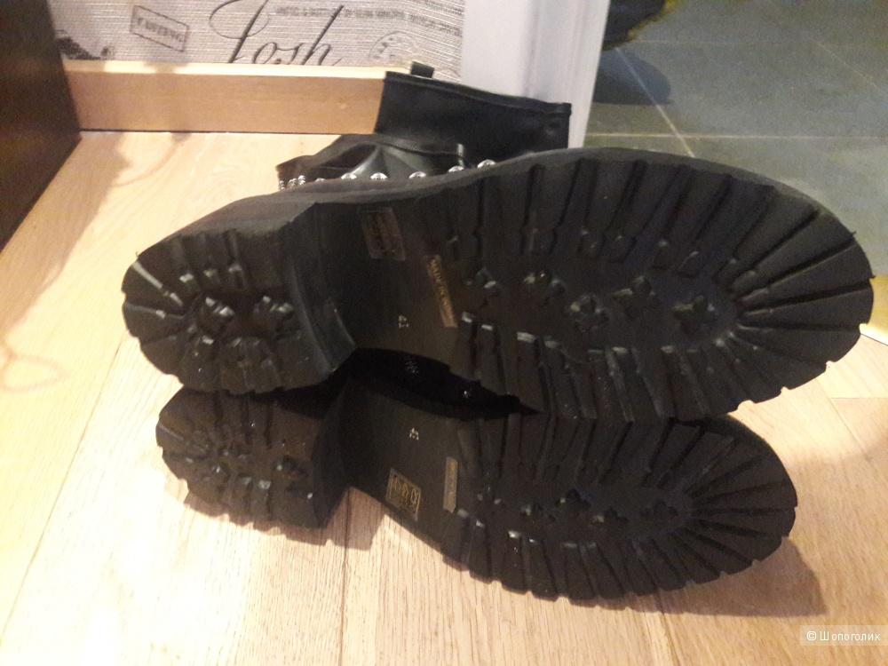 Кожаные сапоги Hadel 41 размера