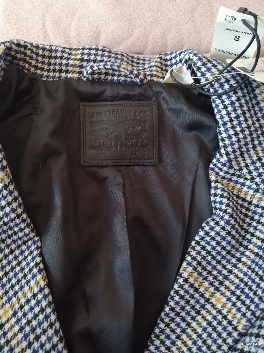 Пальто LEVI'S®, размер S (44 -46 RU)