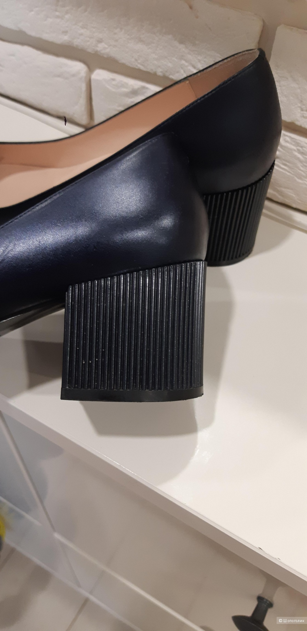 Кожаные туфли Carlo Pazolini, р. 38.5