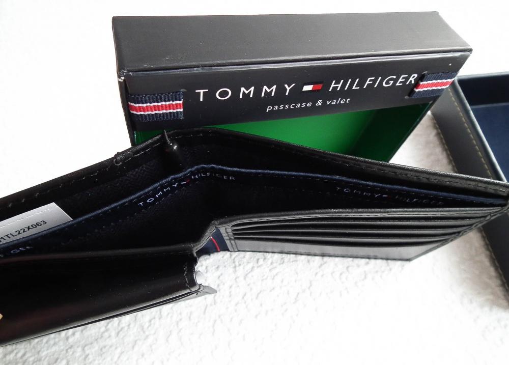 Мужское пормоне кошелек Tommy Hilfiger