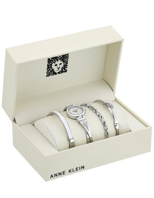 Сет: часы с браслетами Anne Klein, one size