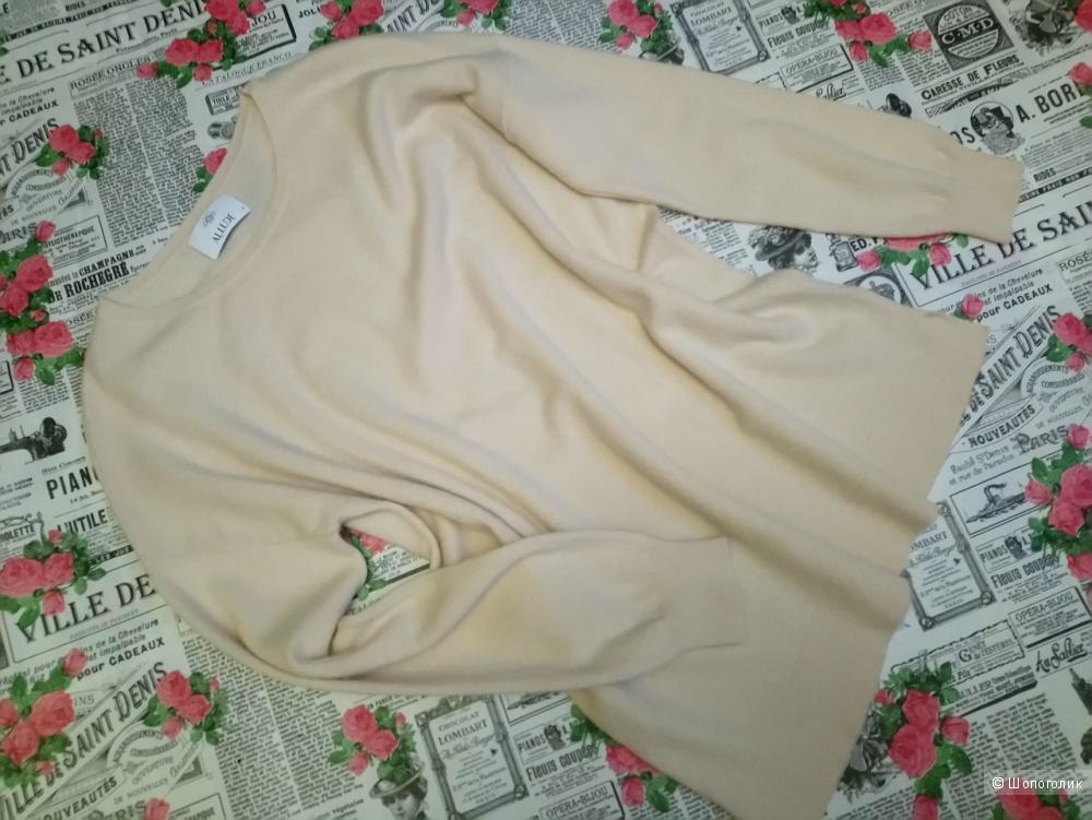 Кашемировый джемпер ALLUDE, размер 46-48-50