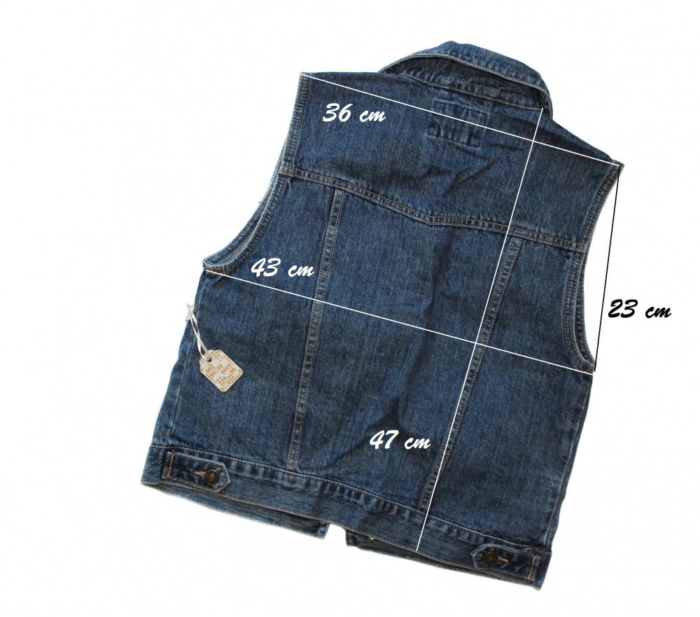 Джинсовая жилетка forever21, размер S