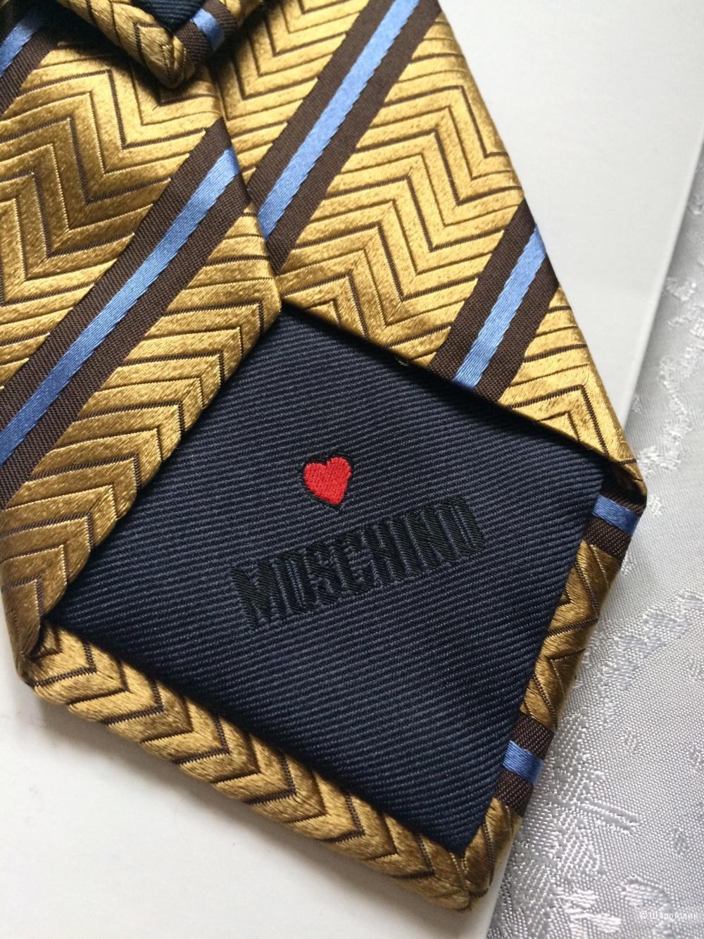 Галстук Moschino one size