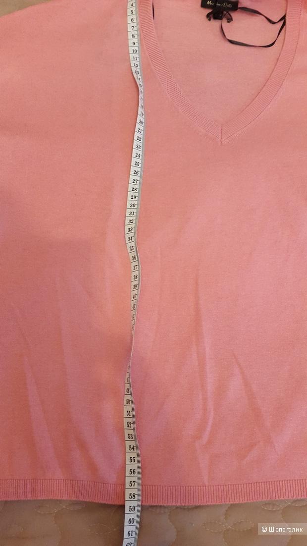 Свитер-кейп из шелка и хлопка Massimo Dutti  Разм XS-S