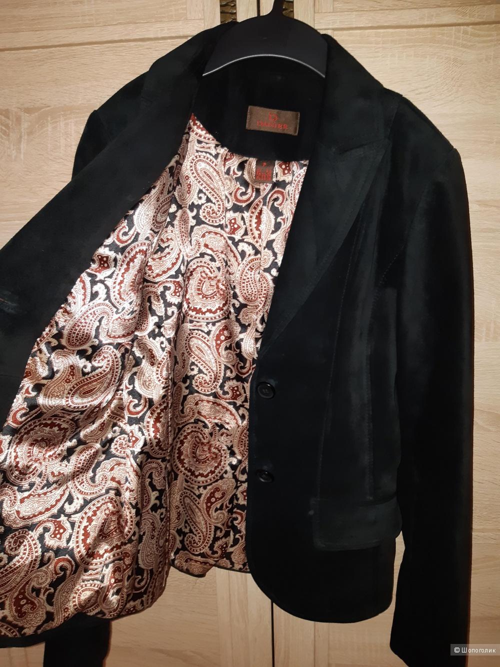 Замшевый пиджак danier, размер 40/42/44
