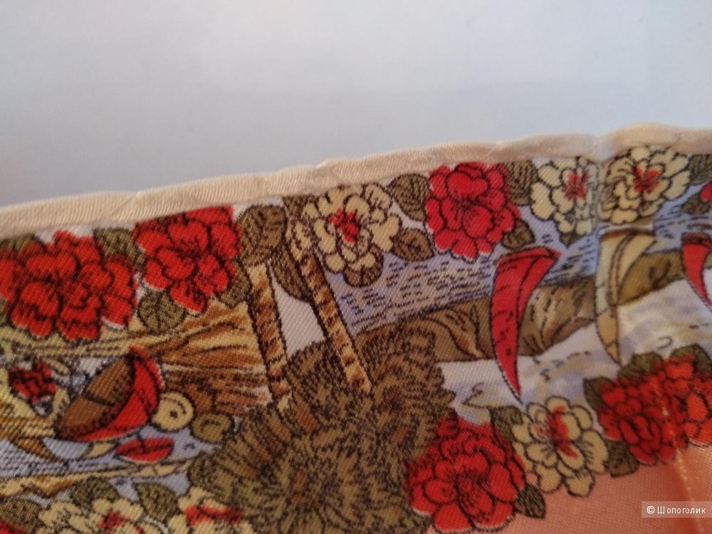 Шелковый платок Noname 75*75см