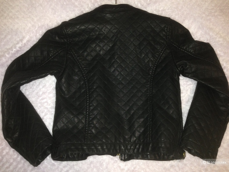 Кожаная курточка Pampolina, р.122