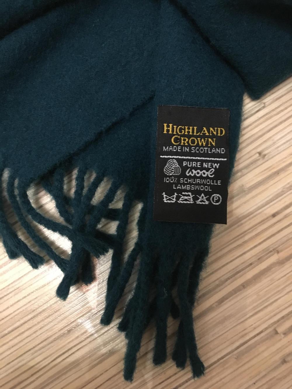 Шарф Highland Crown, размер 28*142