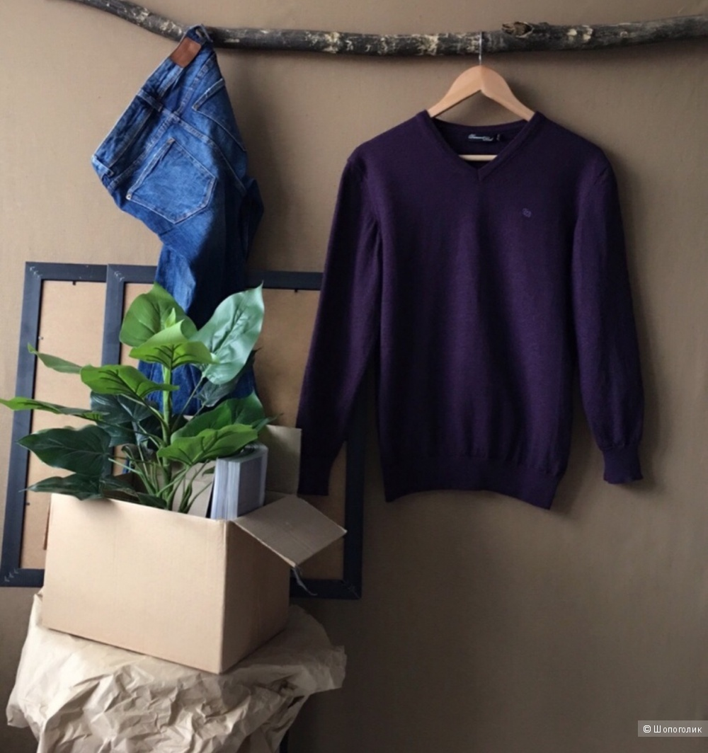 Пуловер Dansaelt Black. Размер: XXL.