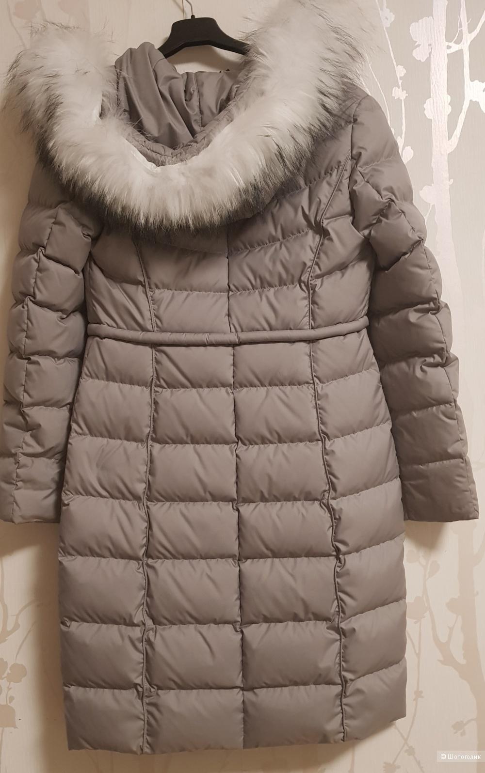 Пуховое пальто La Reine Blanche,42-44 размер