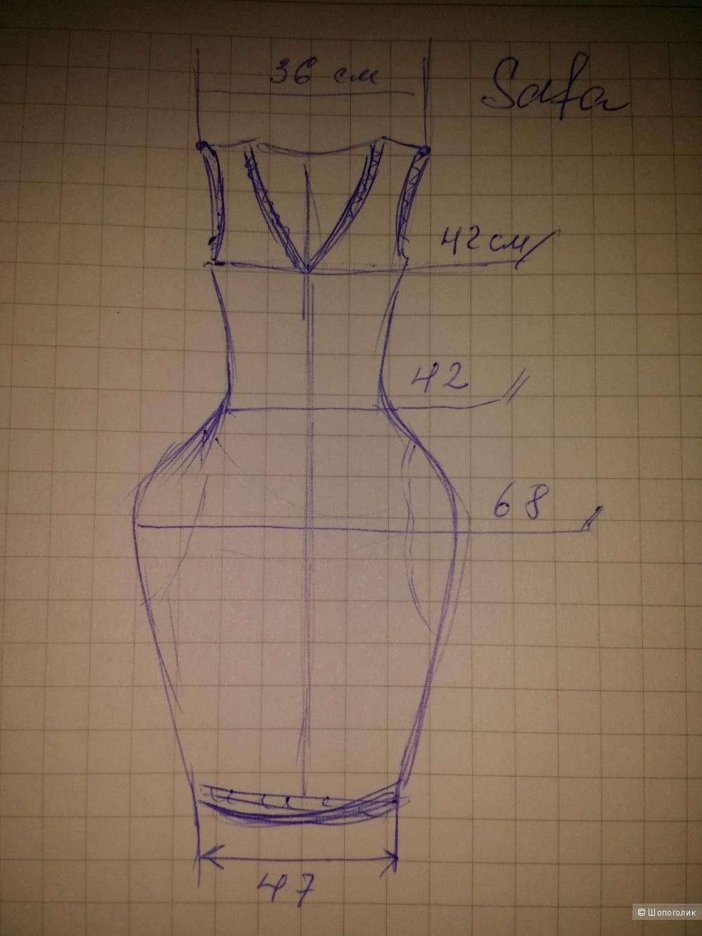 Мериносовое платье Safa, 44-46