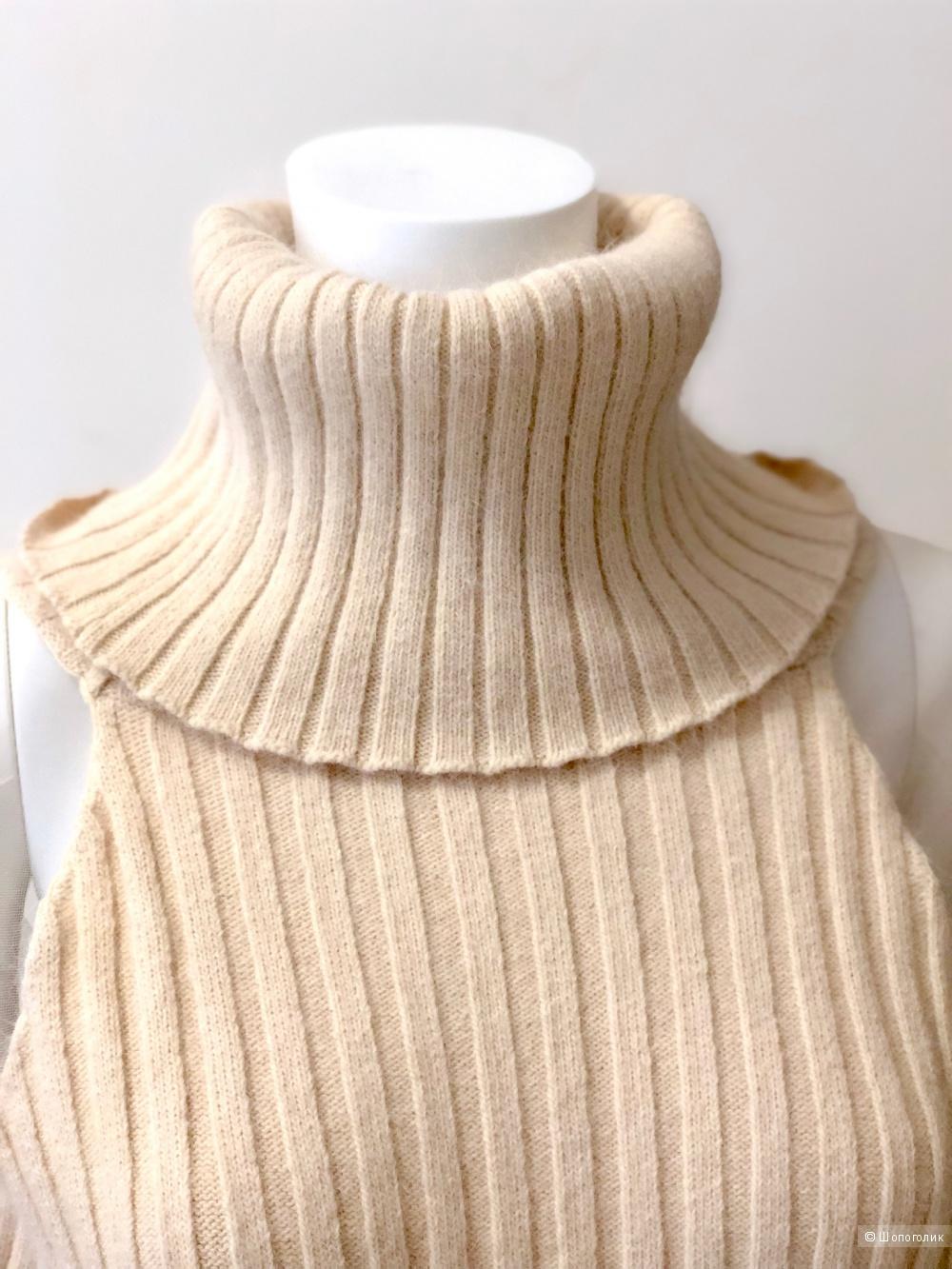 Шерстяное платье-свитер Style Track, размер M