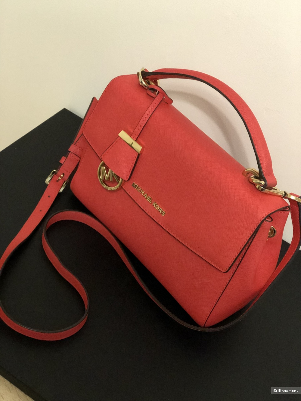 Michael Kors Ava Small Coral Reef