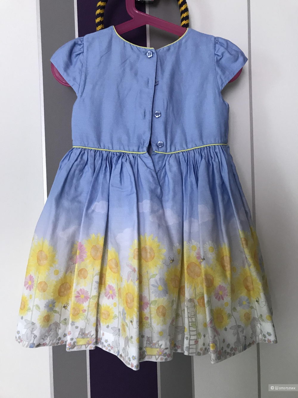 Платье Mothercare, размер 2-3 года