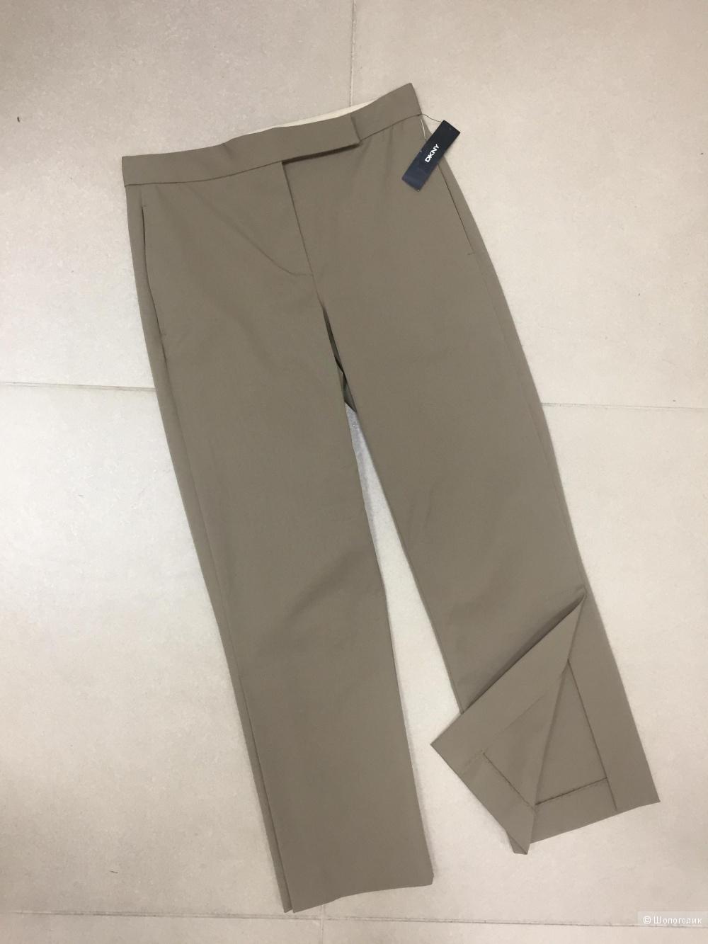 DKNY брюки женские длина 7/8, размер 4(российский 40-42)