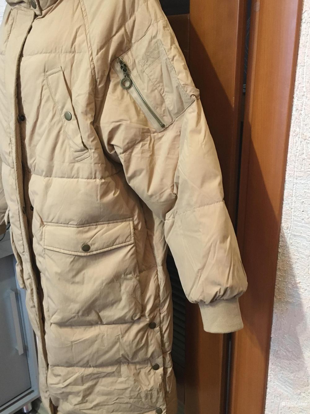 Женское пуховое пальто INMAN. Размер L, на рос. 48-50