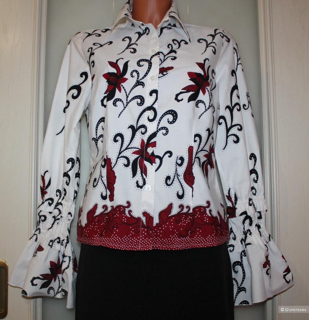 Блуза-рубашка  ALBA MODA, нем. 36, рос. 44-46