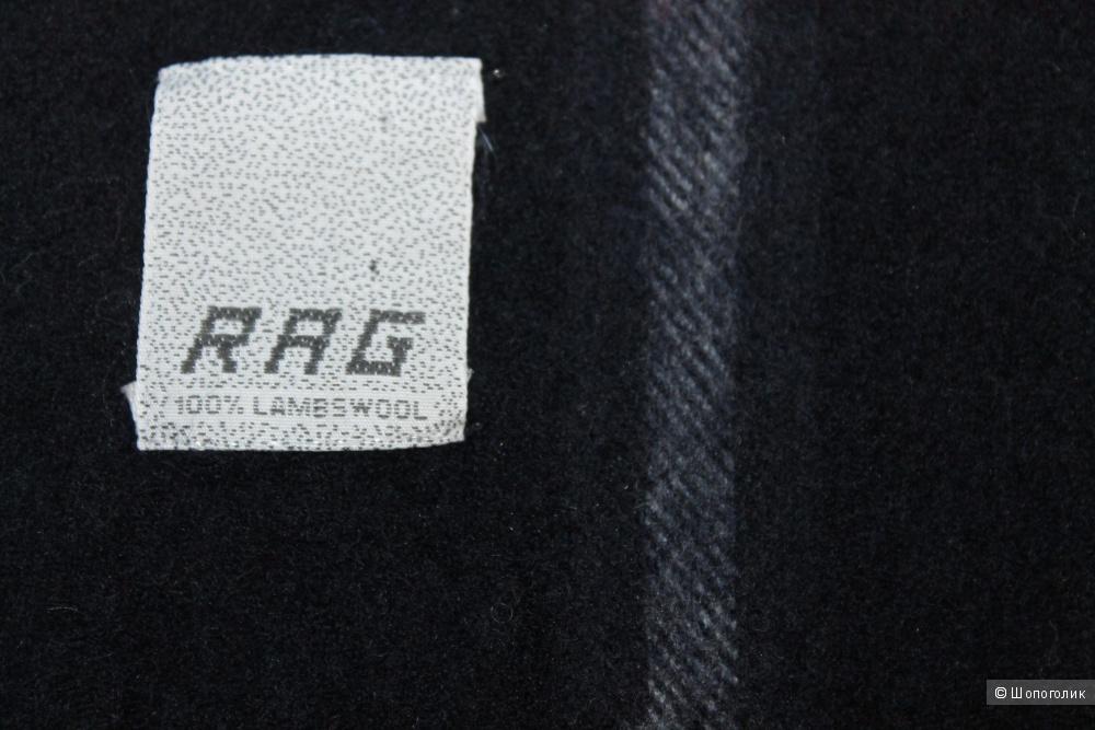 Шерстяной шарф бренда RAG, размер 38х165