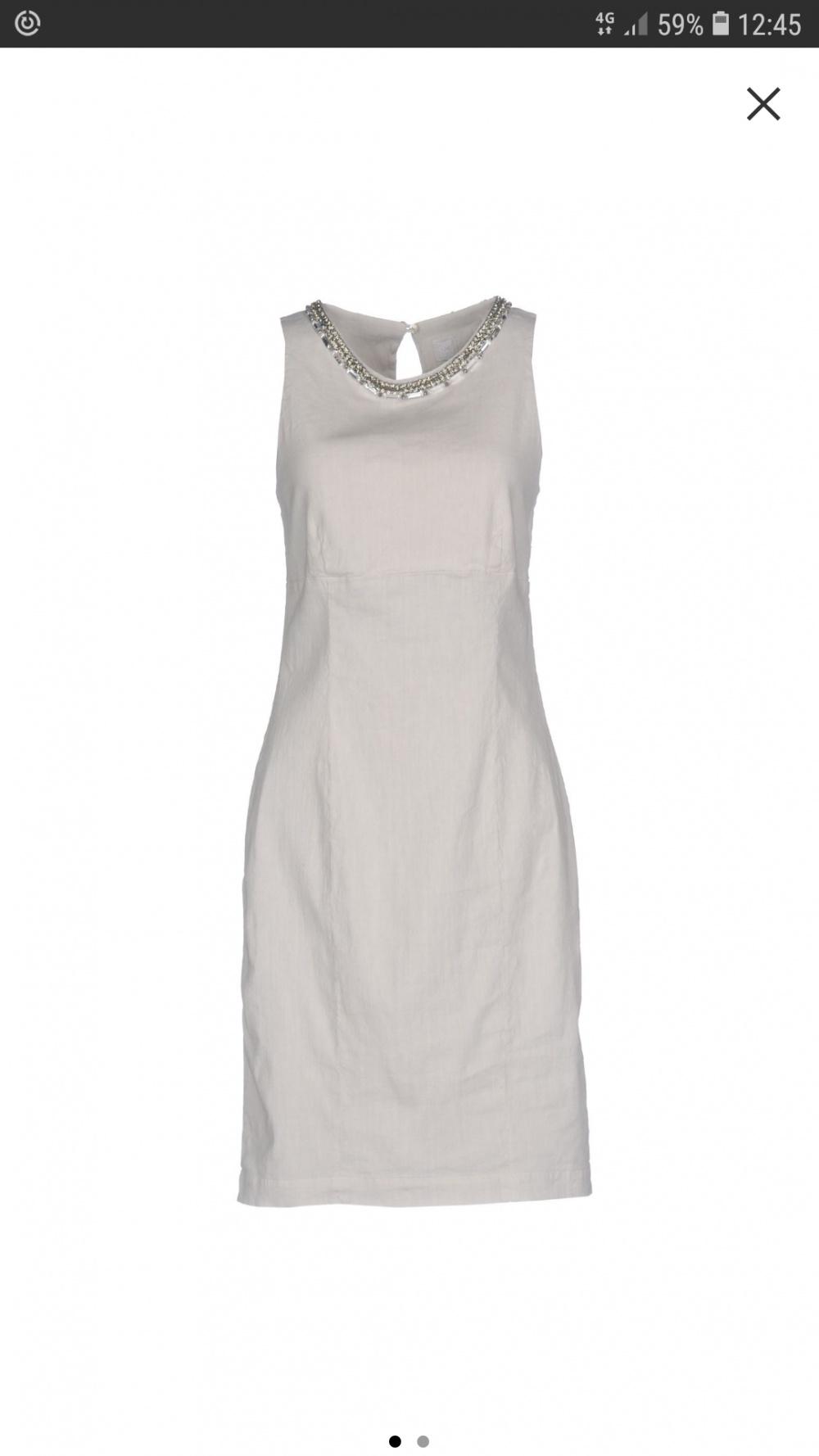 Новое платье итальянской фирмы 120%. Размер 44.