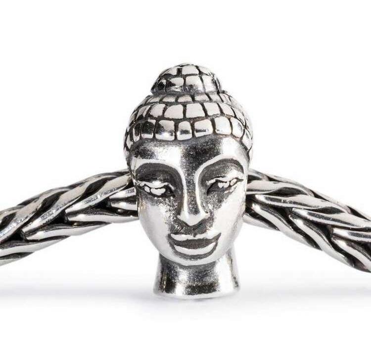 Trollbeads  голова Будды