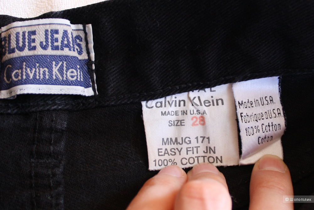 Джинсы Calvin Klein XS размер