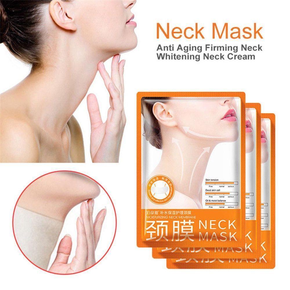 BioAqua Neck Mask маска для шеи на основе гиалуроновой кислоты