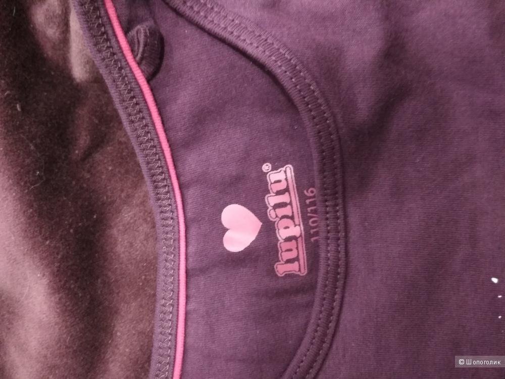 Комплект брюки beetlejuice и футболка lupilu размер 6