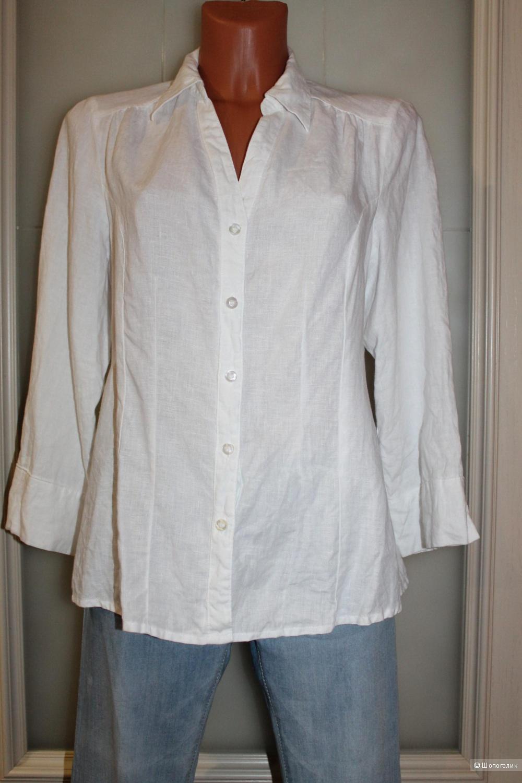 Льняная рубашка KappAhl, размер 46-48