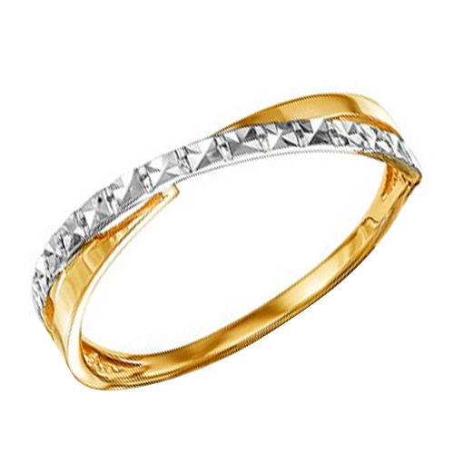 Золотое кольцо Diamant 585 пробы. разм.16.5