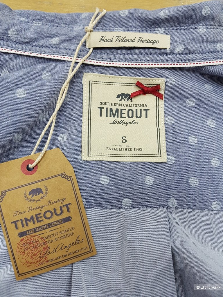 Рубашка  TIMEOUT р-р S  на 42-44