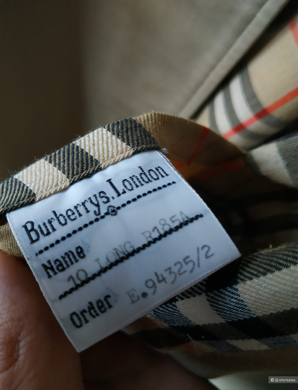 Тренч Burberry, размер S-M