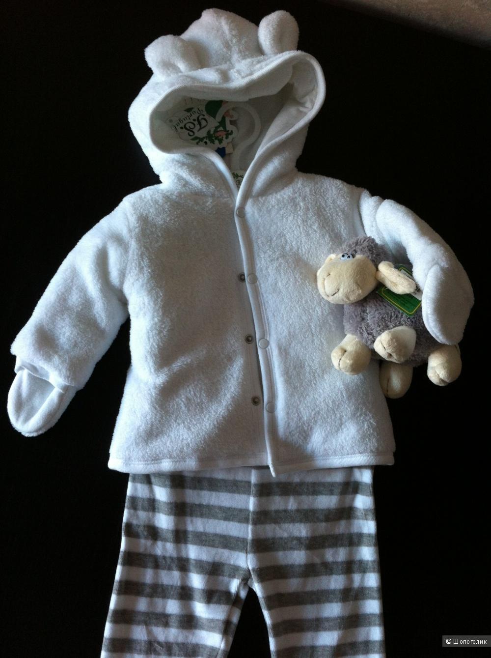 Комплект: боди, штаны, куртка FS PORTUGAL. Размер 68
