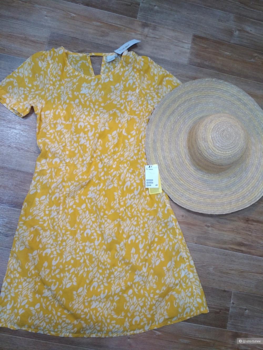 Комплект платье ichi шляпа H&M размер 44/46