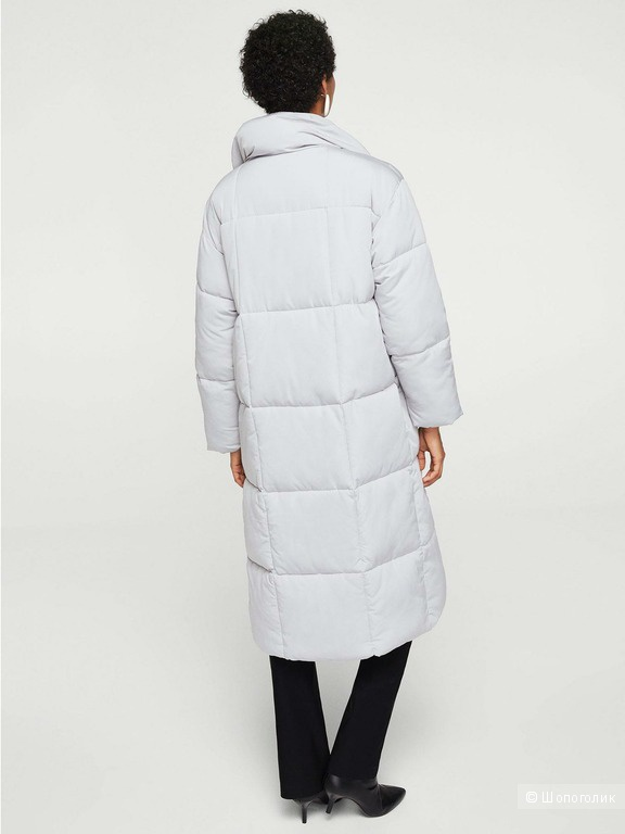 Длинное Пальто-анорак Mango, размер М (46-48+ рус.)
