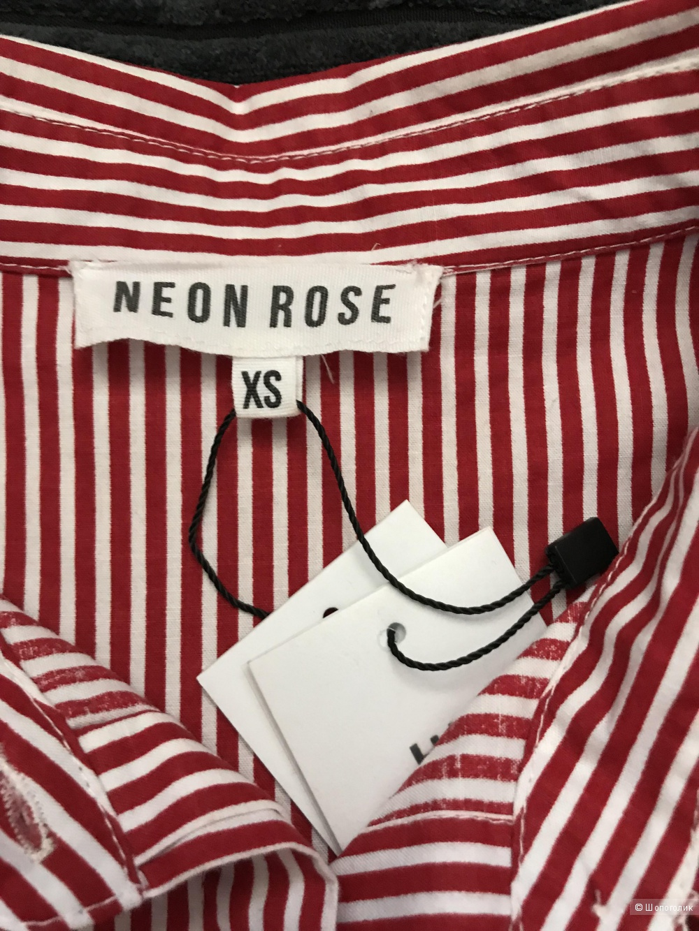 Рубашка Neon Rose размер XS
