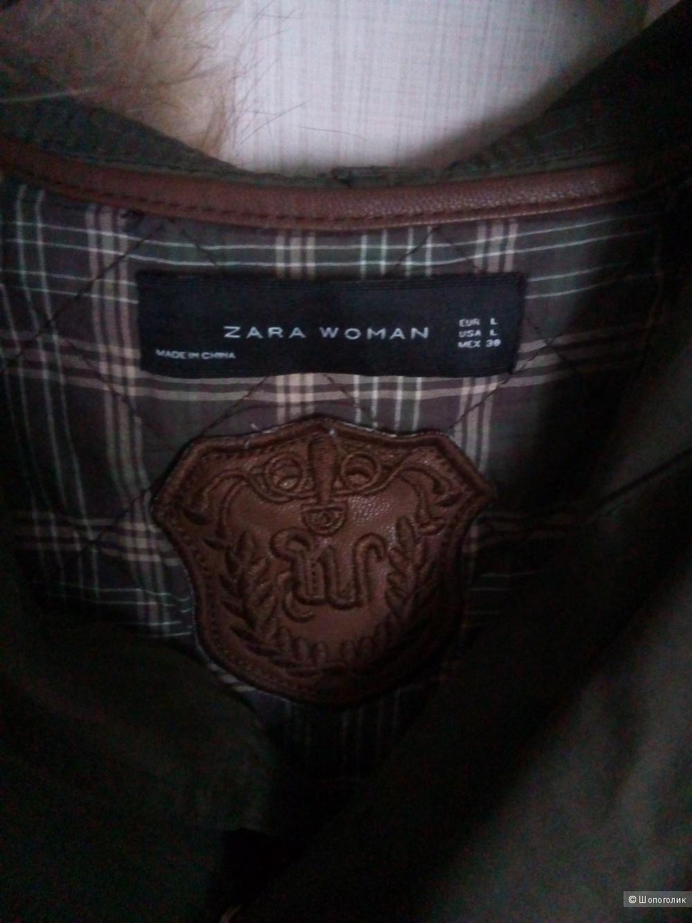 Парка Zara 2 в 1, размер L
