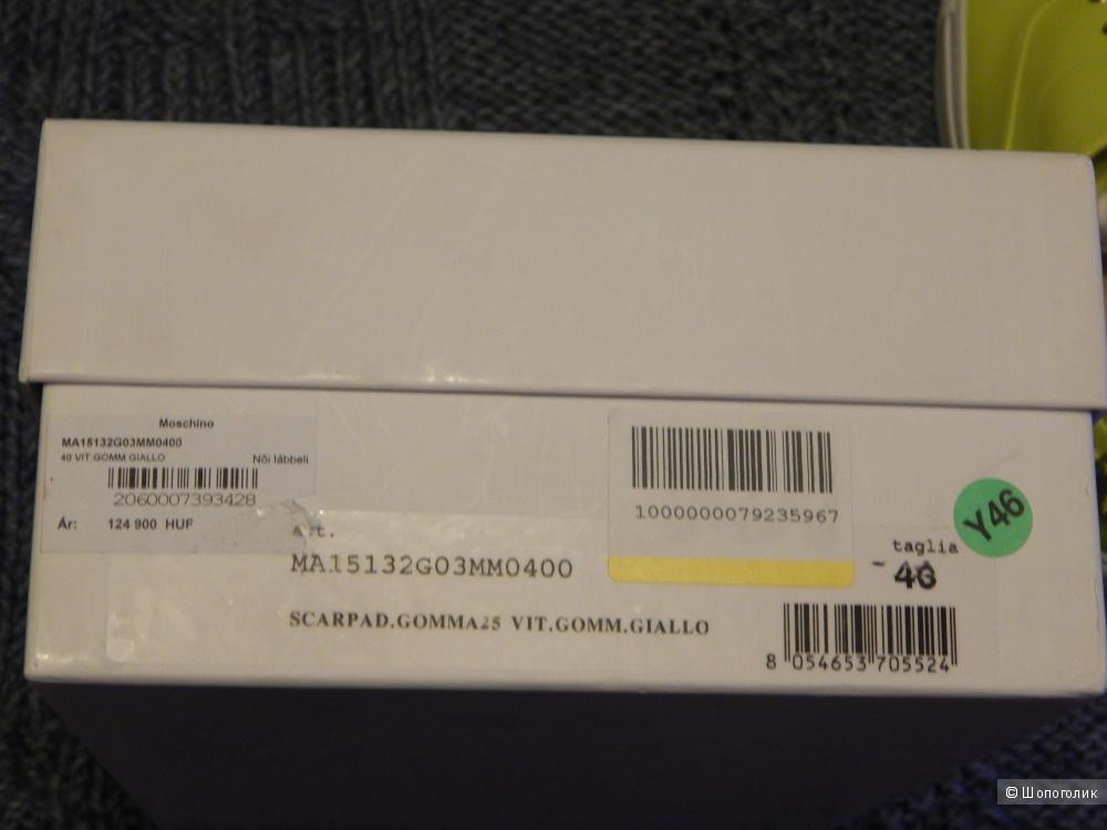 Кеды Moschino,размер 40