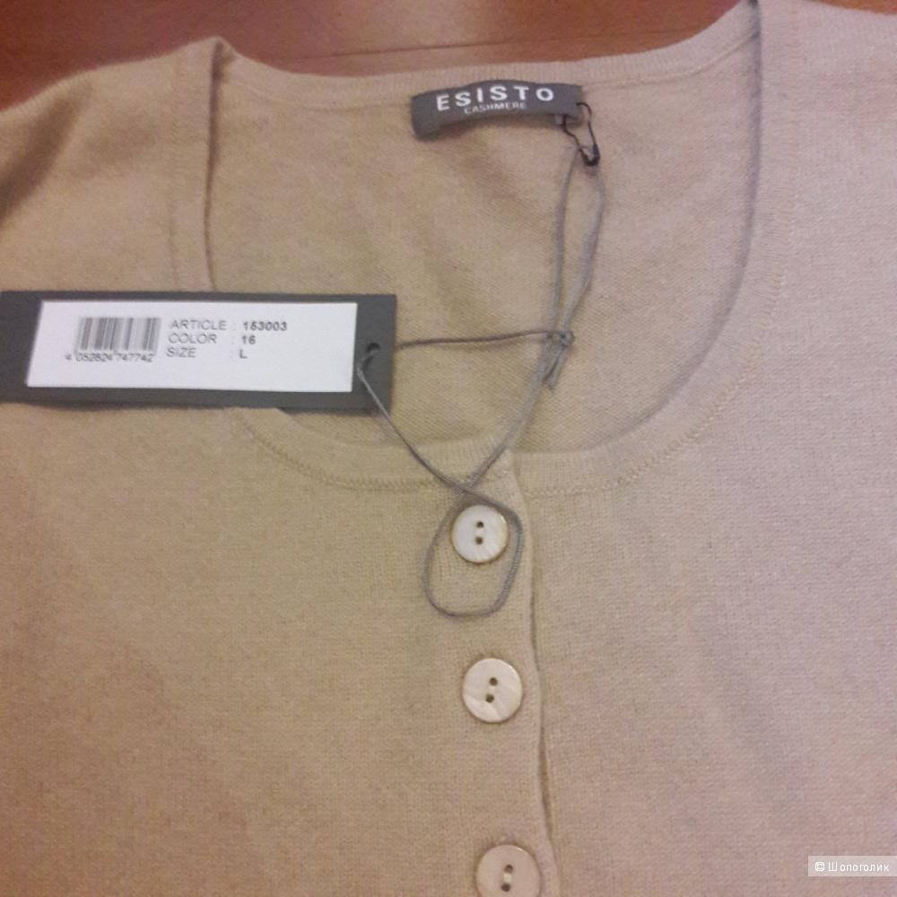 Кашемировый свитер Esisto размер L