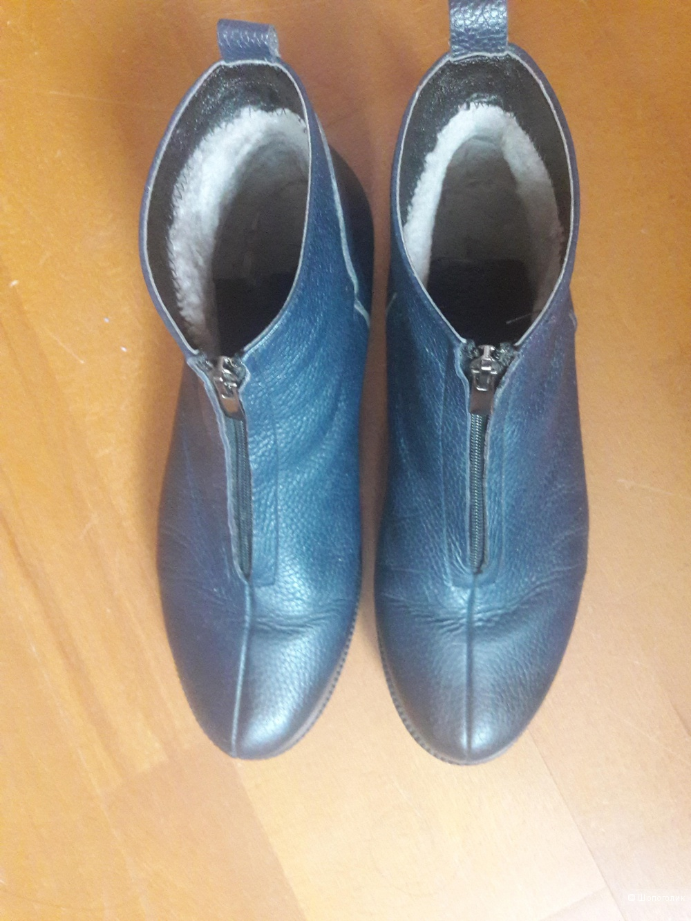 Кожаные ботинки Vitacci 40 размера