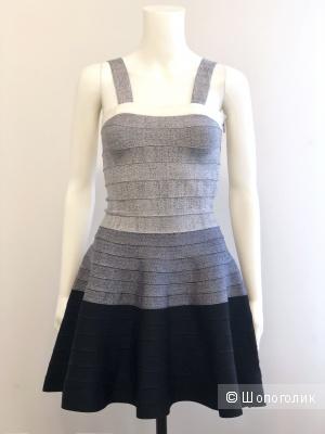 Бандажное платье HERVE LEGER, размер S