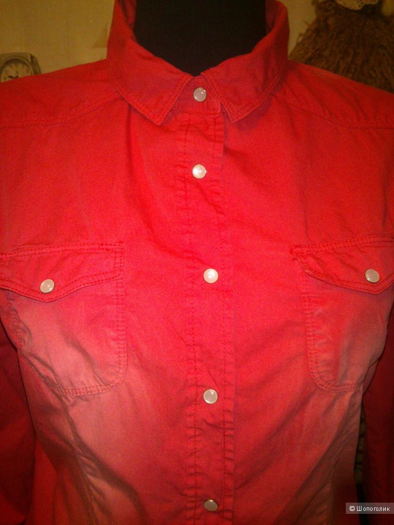 Джинсовая рубашка Blind Date. Размер: 36 (на 42-44 размер).