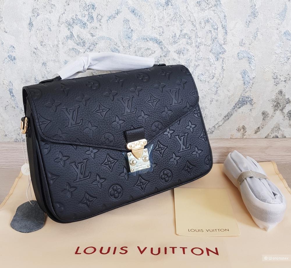 Сумка Louis Vuitton Pochette Metis (черная)