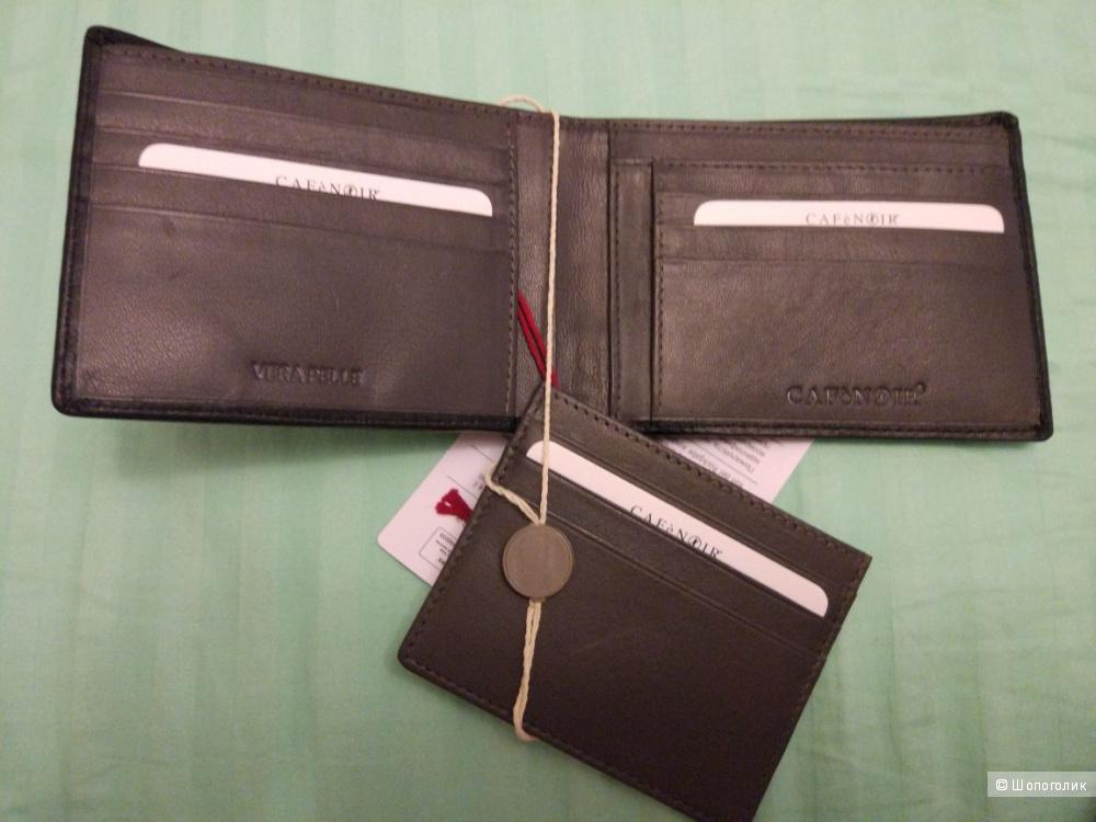 Мужской бумажник  + CAFÈNOIR