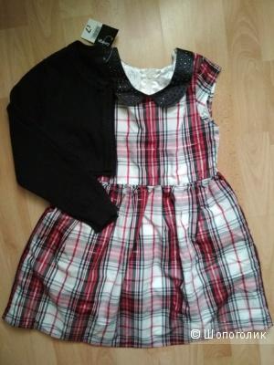 Комплект платье childrensplace болеро George размер 5-6