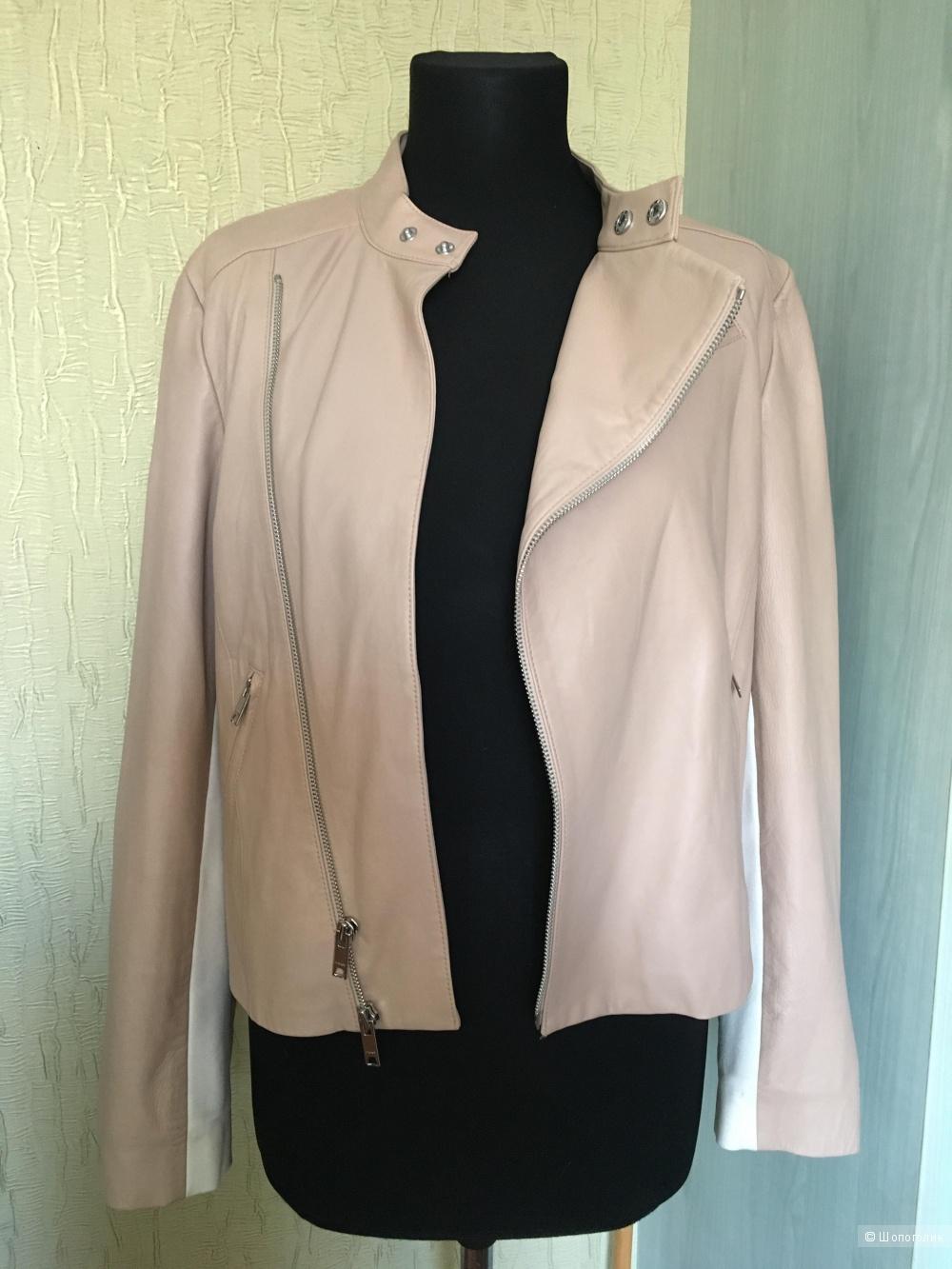 Куртка кожаная DKNY, размер М