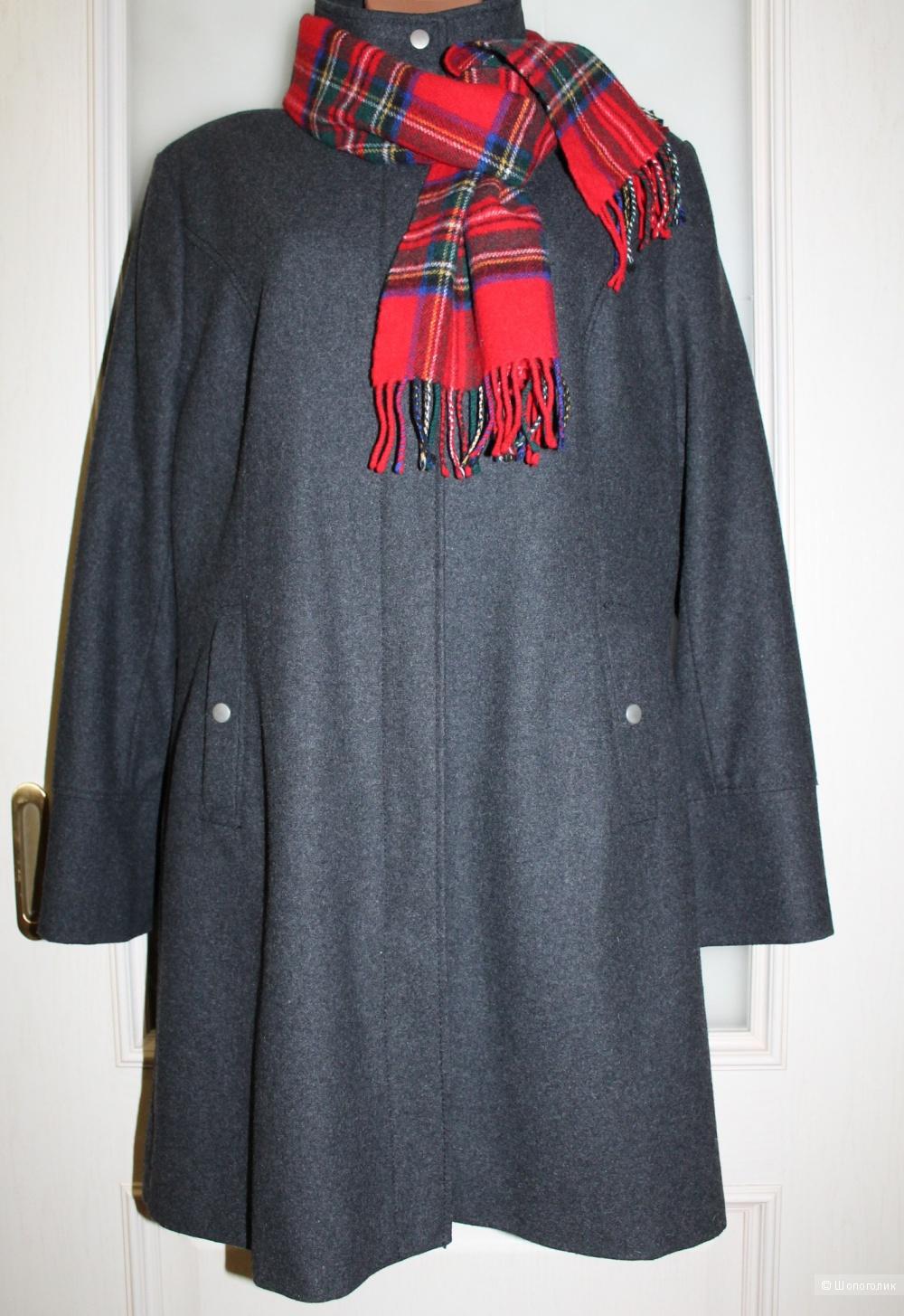 Шерстяное пальто  LIBERTY ISLAND, размер 48, рос. 54-58