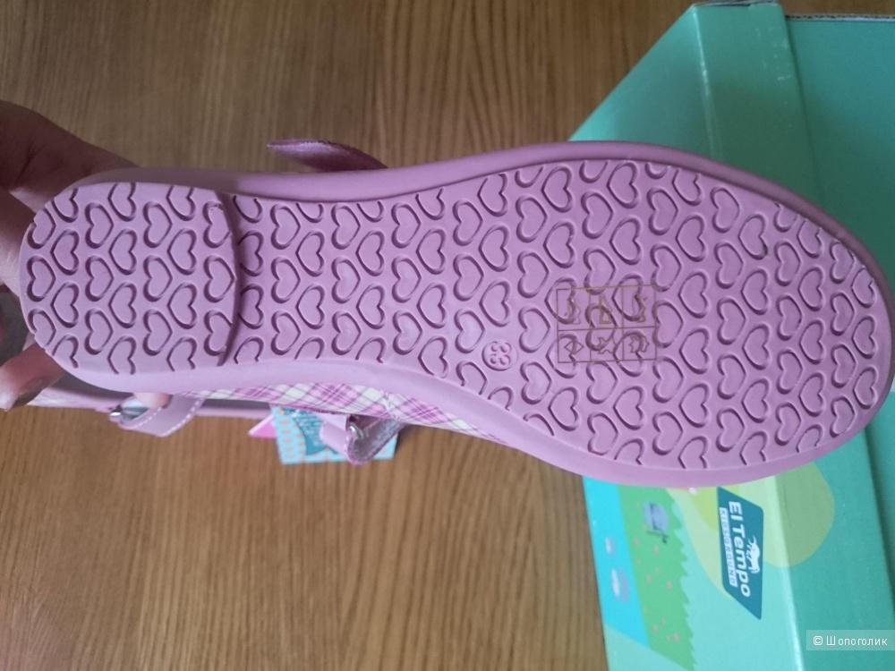 Туфельки El tempo размер 33,кожа