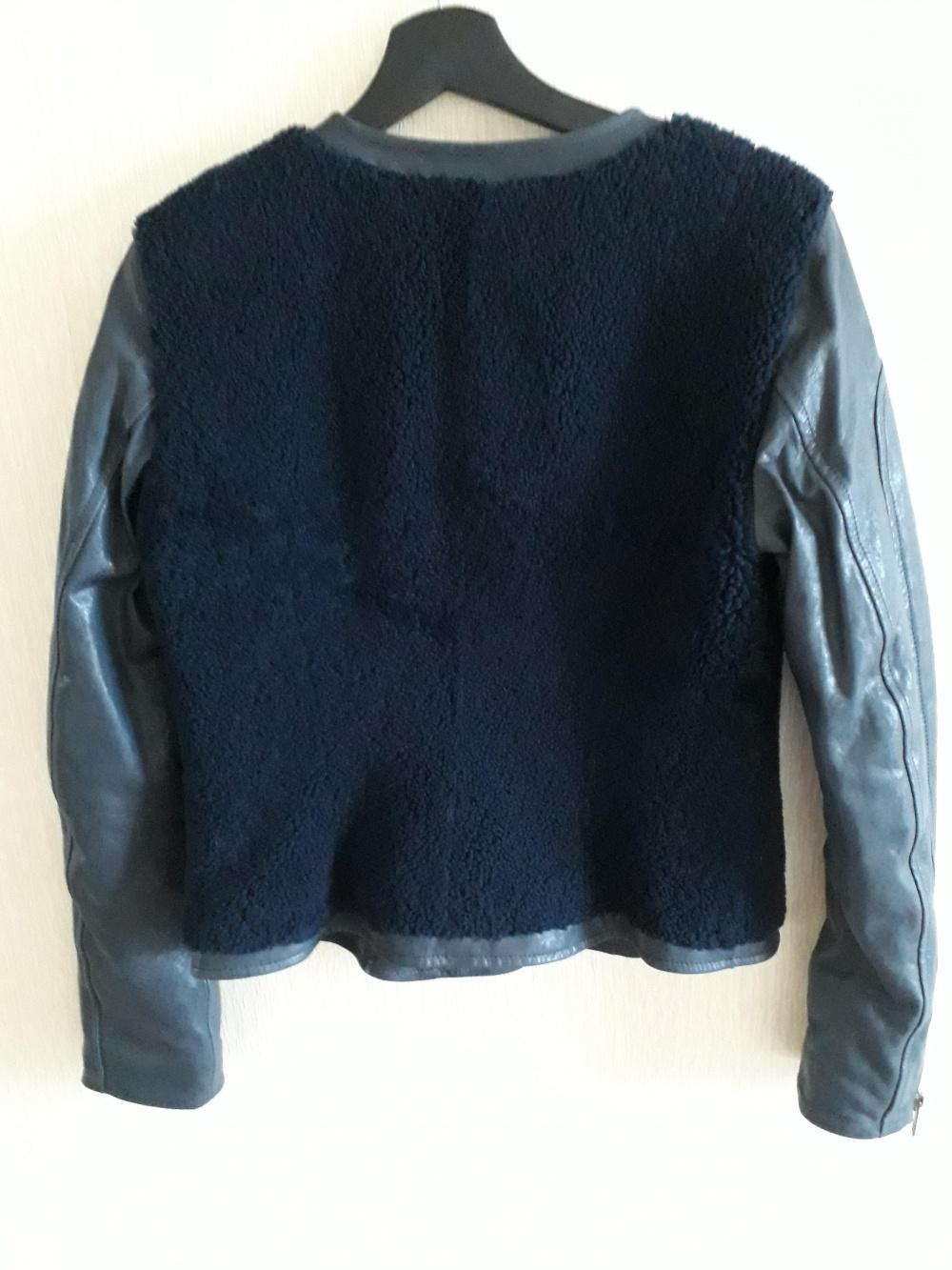 Куртка зимняя (меринос-утепленная кожа) Ventcouvert 42-44 рус (42 it)