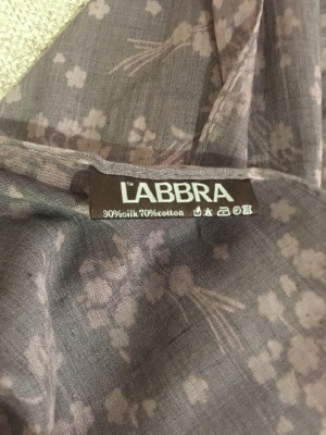 Палантин от Labbra 73 см х180 см.